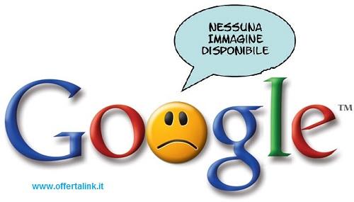 google è triste senza immagini