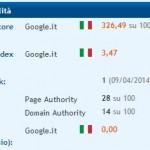 Progetto indicizzazione casettasantina.it