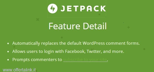 jetpack feature