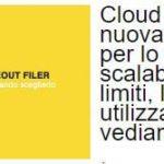 Cloud ScaleOut Filer: il nuovo modo di gestire e archiviare i tuoi file con Seeweb