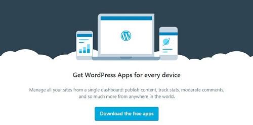 get wordpress app
