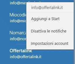 modifica account tophost